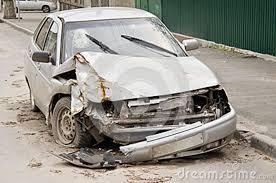 Accident causé par un chauffard