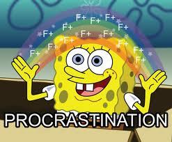Procrastination constructive